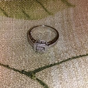 Kay jewelers sterling sliver ring size 8